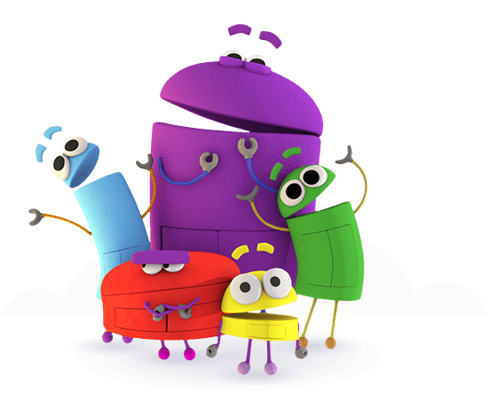 Storybots on Shapes And Colors