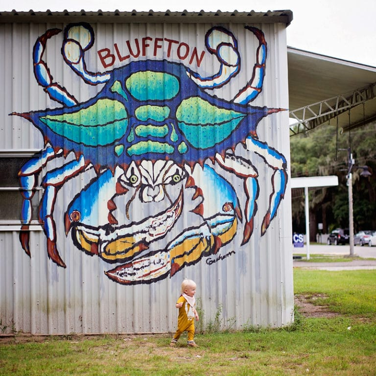 crab painting bluffton south carolina