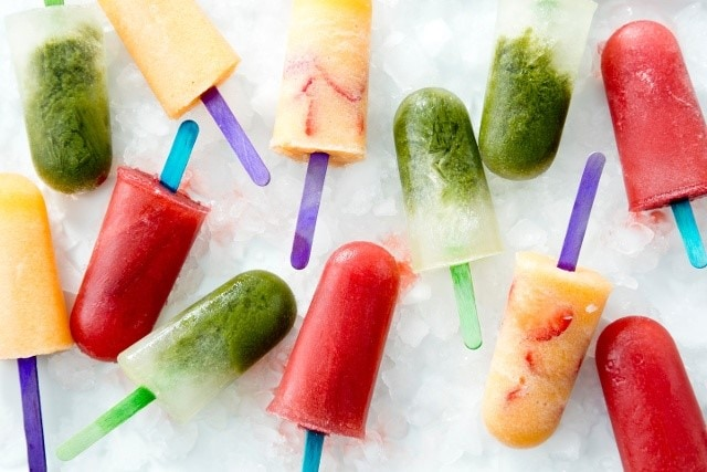 Home made DIY Popsicles