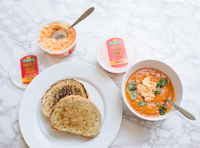 Pimiento Cheese Recipe and Tomato Basil Soup Mom Blogger Healthy Kids Recipes
