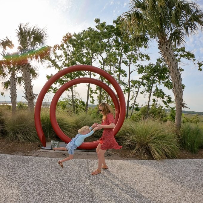 Family Blogger Hilton Head Island Amber Faust