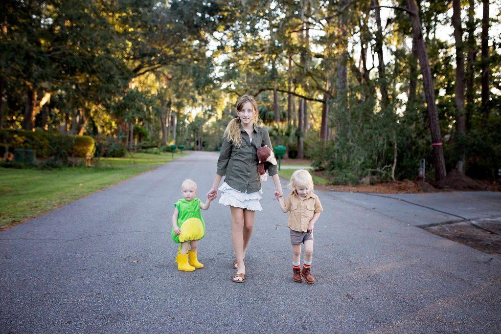 Family Costume Idea - Jane Goodall Crocodile Hunter