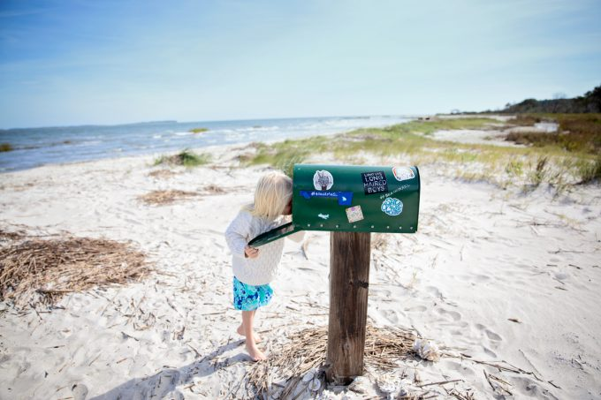 South Carolina Mailbox on the Beach Kindred Spirit