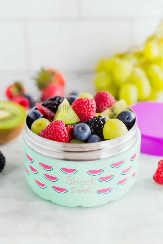 Healthy Mom Blogger Fruit Salad Amber Faust 2020