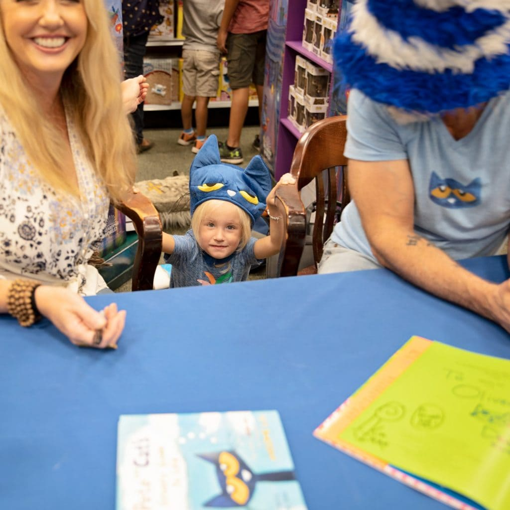 Pete the Cat Author Meet & Greet