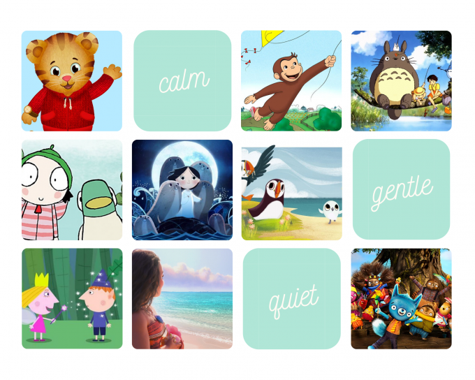 Calm Peaceful Cartoons and Childrens Programs