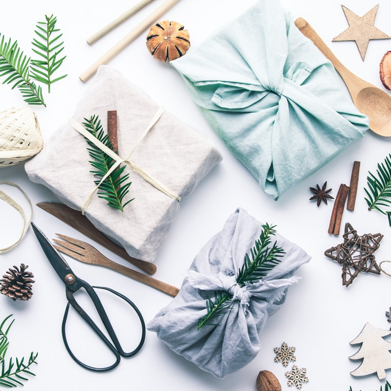 zero waste gift wrap ideas 2020