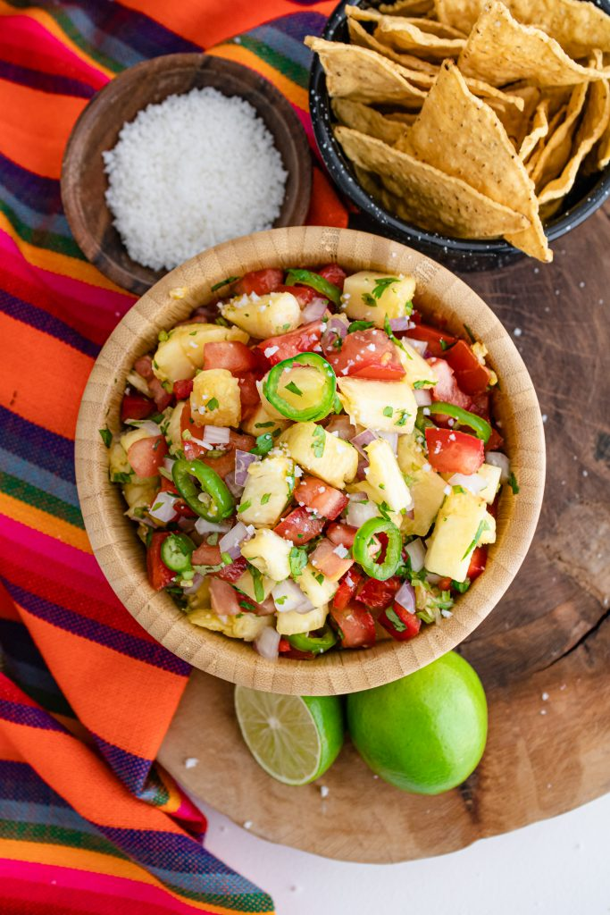 The Health Benefits of Pineapple, Why does my mouth hurt after eating pineapple, Pineapple Salsa Recipe, Pineapple Pico-de-gallo